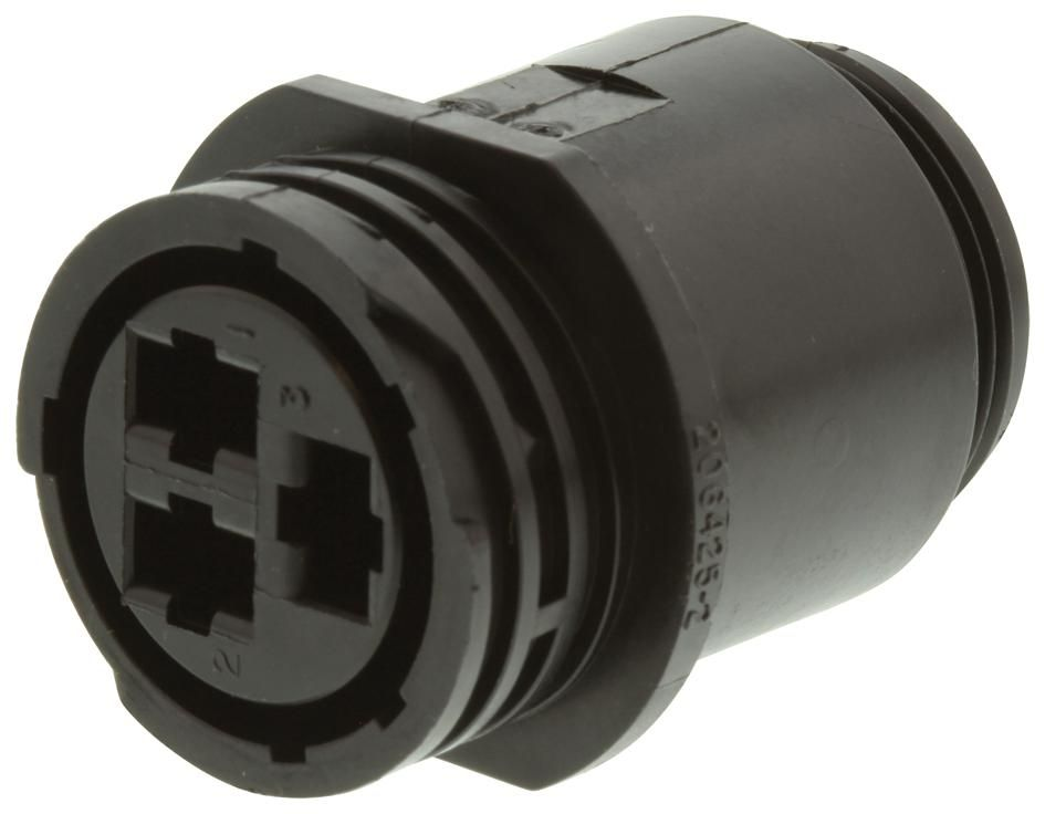 AMP - TE CONNECTIVITY 206425-2  Receptacle For Socket Contact 3 Way