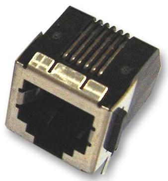 AMP - TE CONNECTIVITY 106066-2  Jack Right Angle Shielded 8/8