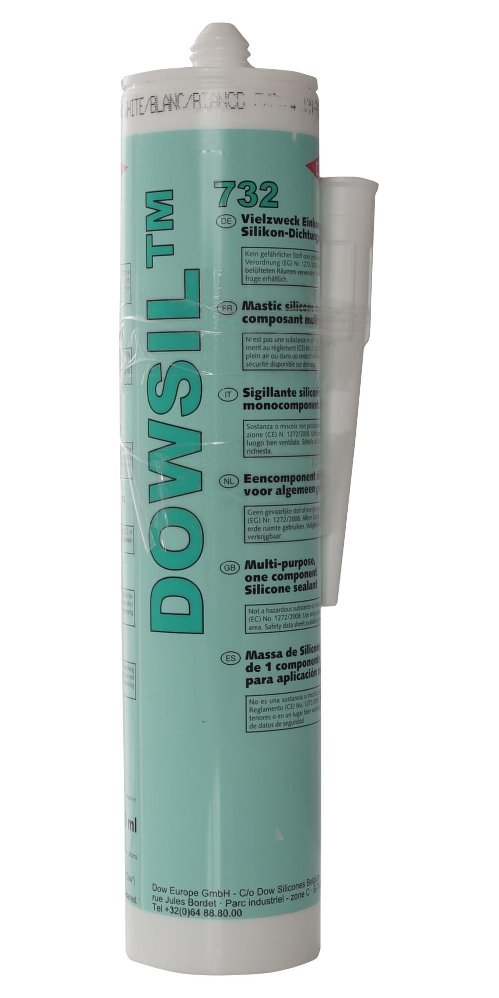 DOWSIL (FORMERLY DOW CORNING) 732 WHITE 310ML  Rtv Silicone 732 White 310Ml