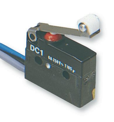 ZF ELECTRONICS UDC1C-C3RC  Microswitch Roller Lever