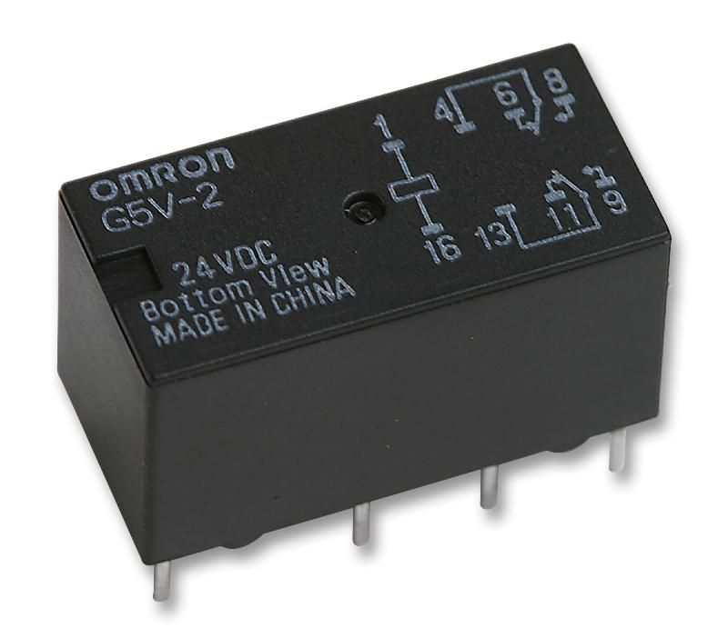 OMRON ELECTRONIC COMPONENTS G5V-2 24DC  Relay Pcb Dpco 24Vdc