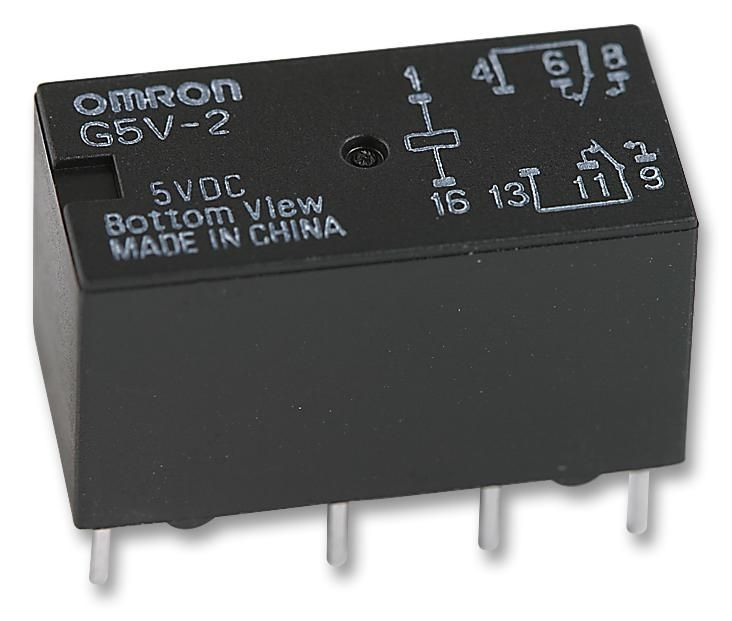 OMRON ELECTRONIC COMPONENTS G5V-2 5DC  Relay Pcb Dpco 5Vdc