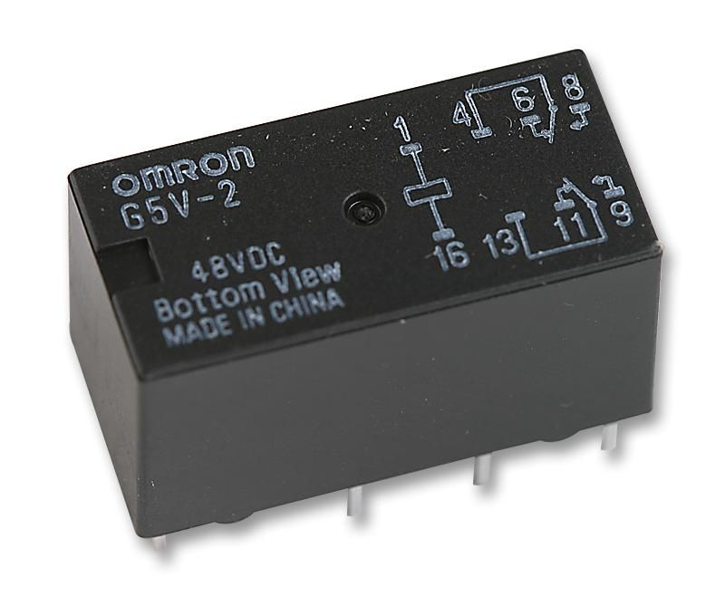 OMRON ELECTRONIC COMPONENTS G5V-2 48DC  Relay Pcb Dpco 48Vdc
