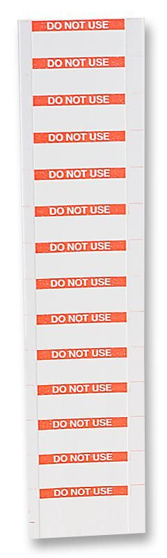 PRO POWER 7827293  Label Do Not Use Pk350