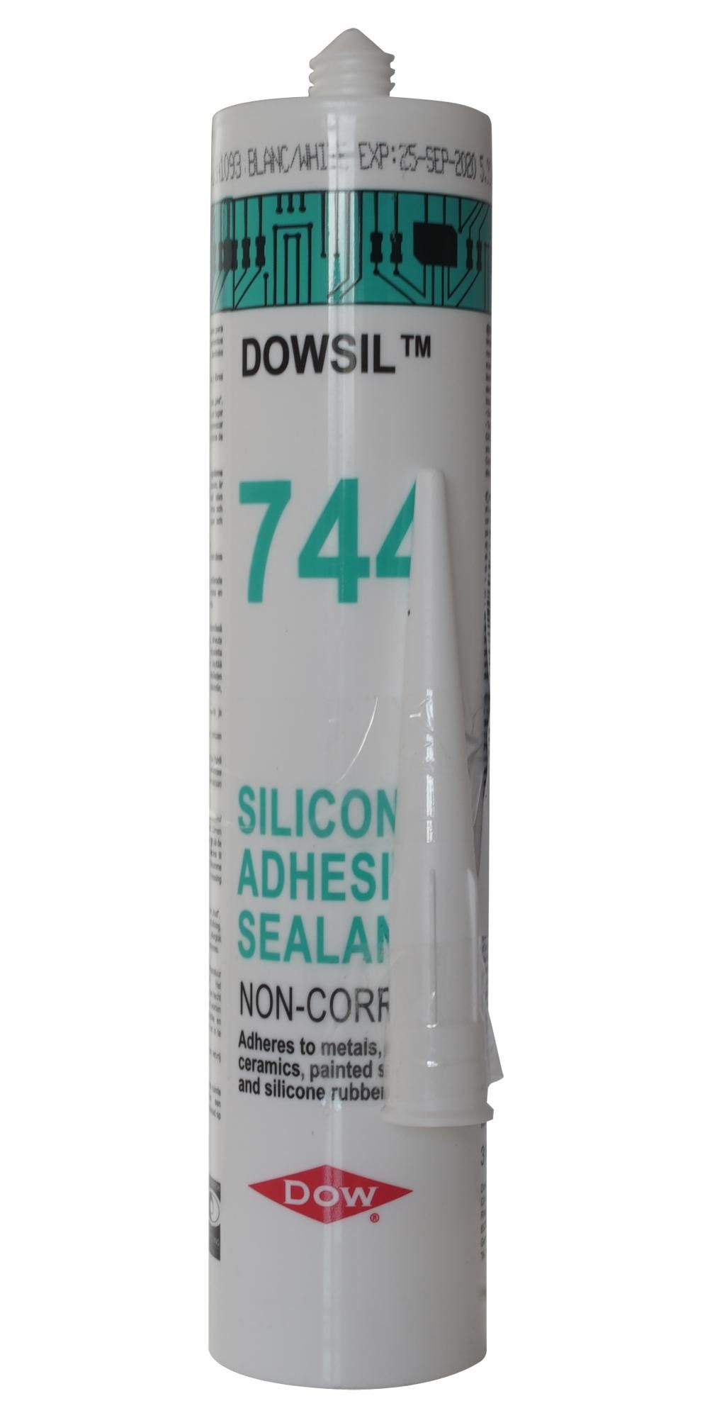 DOWSIL (FORMERLY DOW CORNING) 744 WHITE 310ML  Rtv Silicone 744 White 310Ml