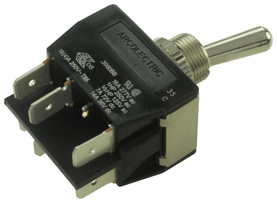 ARCOLECTRIC C3960BBAAA  Toggle Switch
