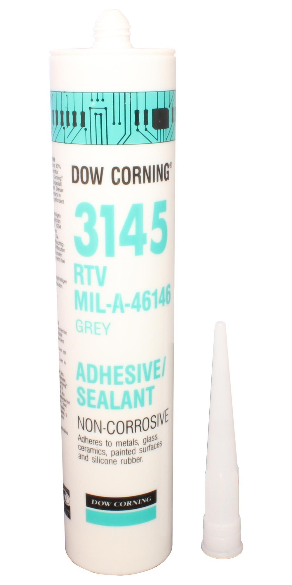 DOWSIL (FORMERLY DOW CORNING) 3145 GREY 310ML  Rtv Silicone Grey 310Ml