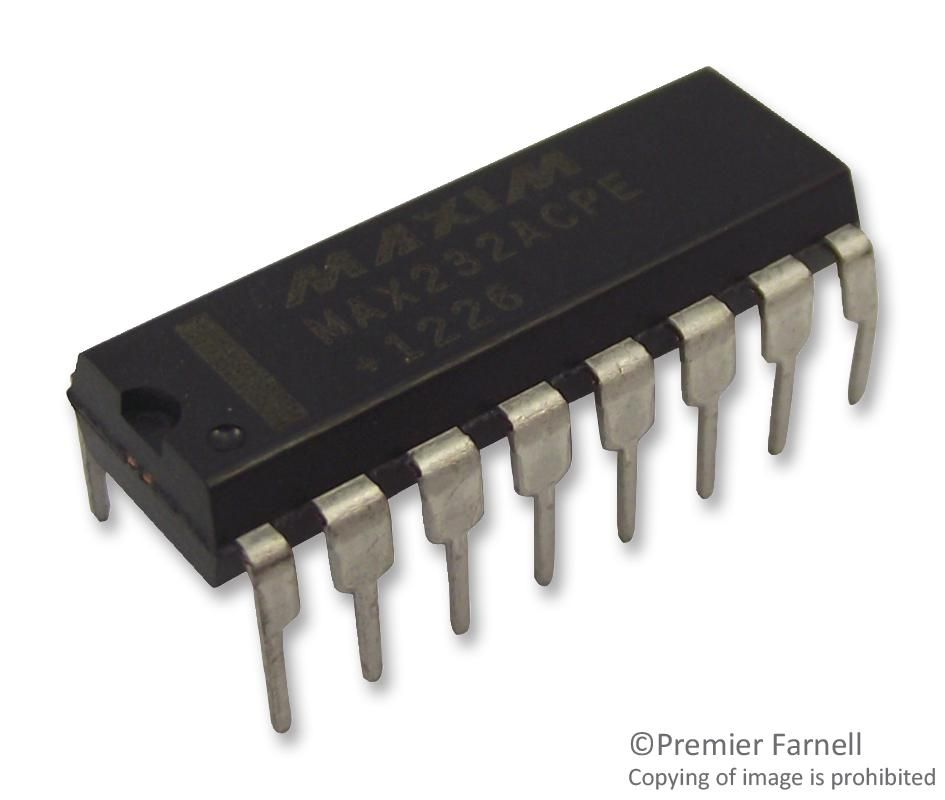 MAXIM INTEGRATED PRODUCTS MAX232ACPE+  Ic Dual Transceiver Rs232 Dip16