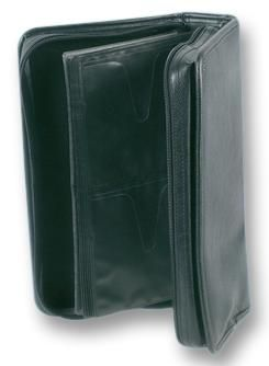 UNBRANDED CD CARRY CASE, LEATHER, 96 DISC  Cd Carry Case Leather 96 Disc