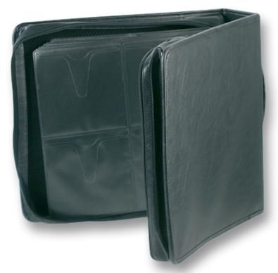 UNBRANDED CD CARRY CASE, LEATHER, 240 DISC  Cd Carry Case Leather 240 Disc