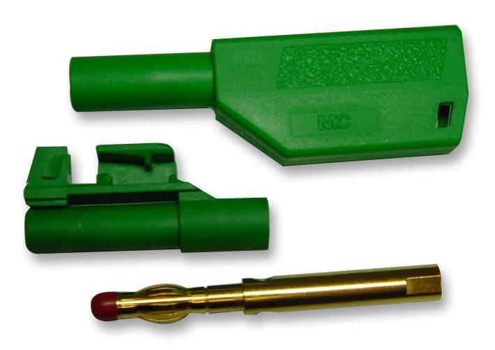 MC (MULTI CONTACT) 20277-6  4Mm Stackable Plug - Green