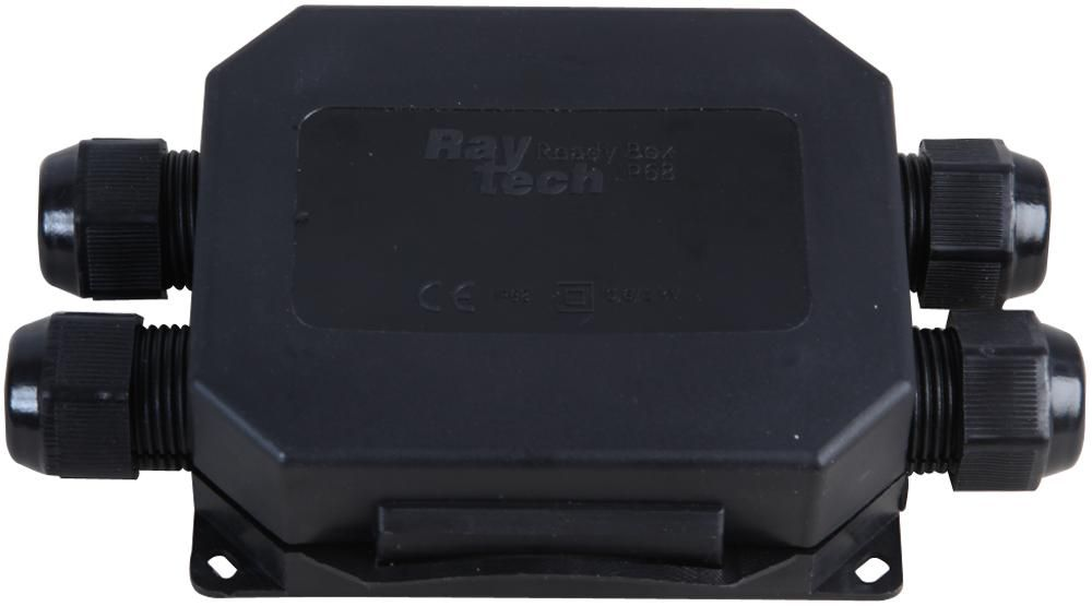 RAYTECH READYBOX120-N  Connection Box Gel 4 Cables,5P Black