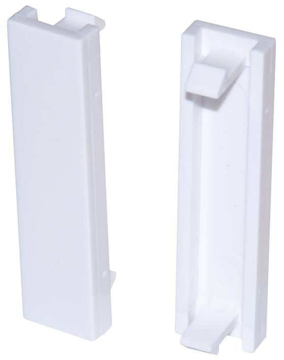 CONNECTIX CABLING SYSTEMS 008-001-004-65  Blanking Plate Euro Quarter