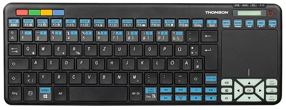 THOMSON CONSUMER ELECTRONICS 73132700  Keyboard Remote Sony Tv
