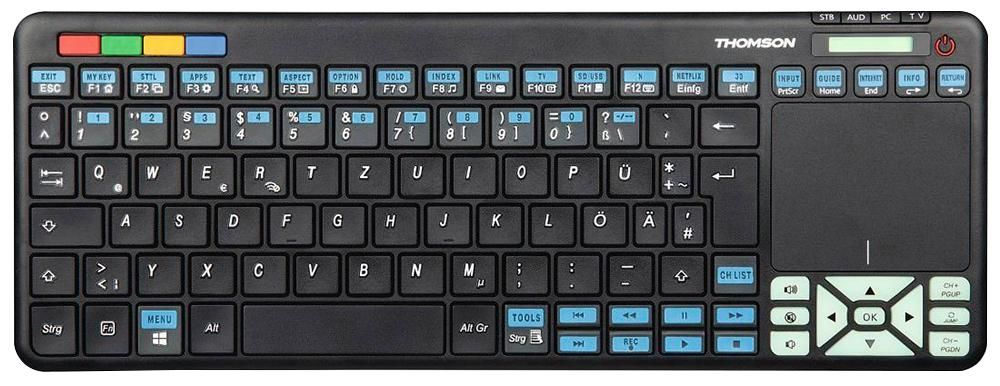 THOMSON CONSUMER ELECTRONICS 73132702  Keyboard Remote Panasonic Tv
