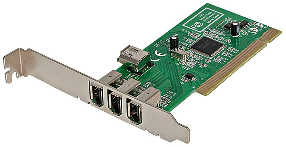 STARTECH PCI1394MP  4 Port Pci Firewire Adapter Card