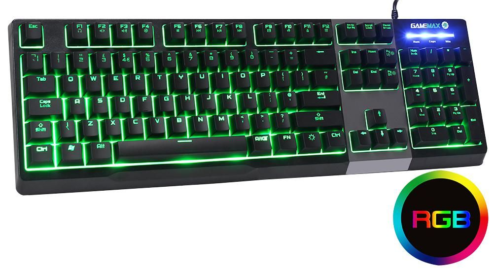 GAMEMAX GMX-CLICK  Keyboard Mechanical Rgb Feel
