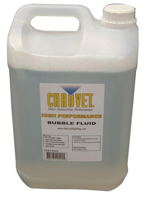 CHAUVET BJ-5 BUBBLE FLUID 5 LITRES  Bubble Fluid