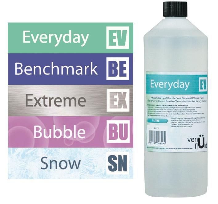 VENU BENCHMARK FL201  Smoke Fluid Medium 1 Litre