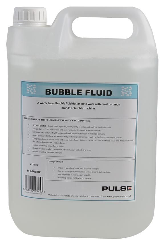 PULSE PFX-BUBBLE  Bubble Fluid 5Ltr