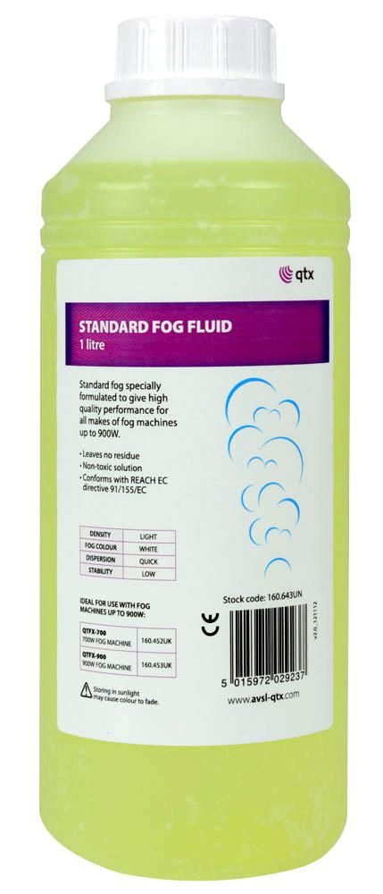 QTX 160.643UK  Fog Fluid Standard Yellow 1L