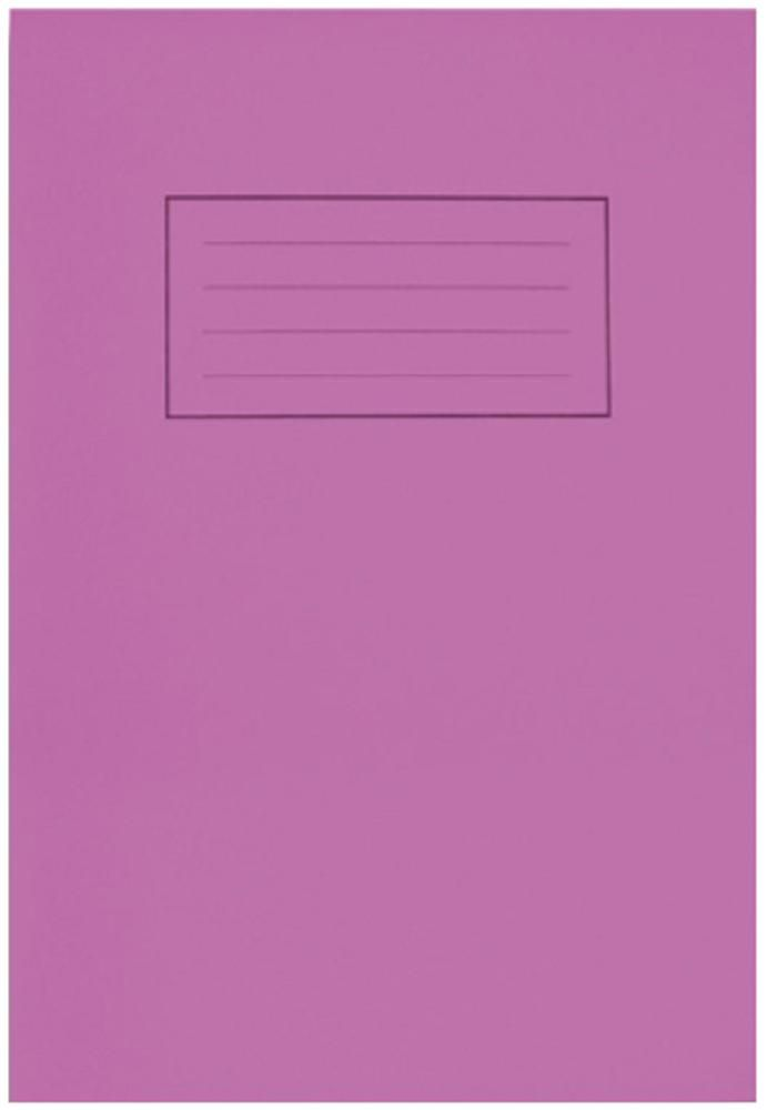 SILVINE EX192  A4 Handwriting Book 32 Pages Purple