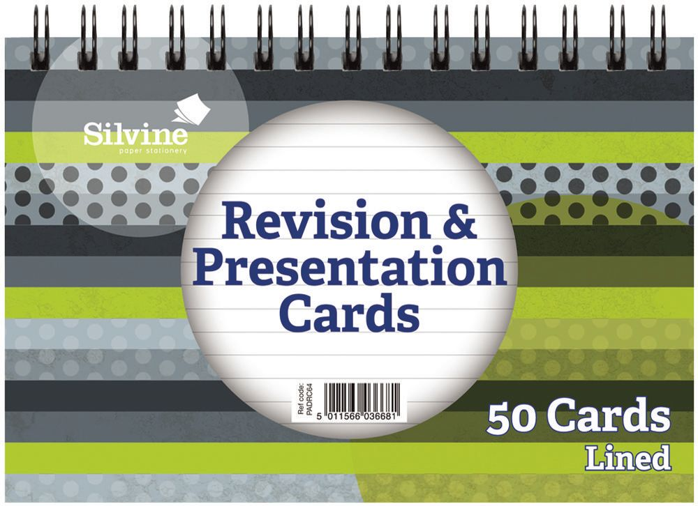 SILVINE PADRC64  Twin Wire Revision/Presentation Cards