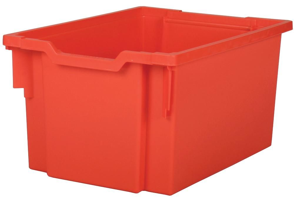 GRATNELLS F25FR  Extra Deep Tray Flame Red