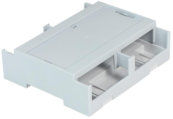 CAMDENBOSS CDIB/6ST/L2  Din Rail Box Solid Top Low Open Sides