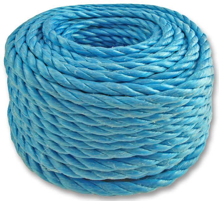 UNBRANDED PP08BE30  Str Poly Rope 8Mm Blue 30M