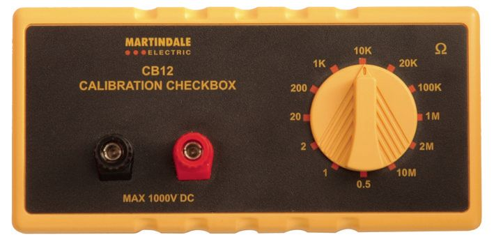 MARTINDALE ELECTRIC CB12  Calibration Check Box