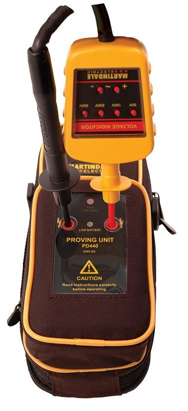 MARTINDALE ELECTRIC VIPD138  Voltage Indicator And Proving Unit