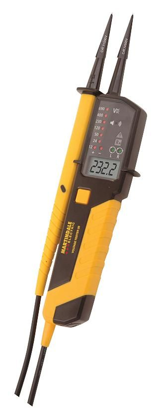 MARTINDALE ELECTRIC VT28  Voltage Tester With Lcd