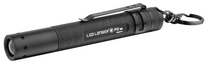LED LENSER 8402  Led Lenser P2 Torch Black