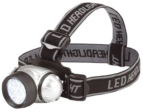 CLARKE INTERNATIONAL 4003165  Headlight 19 Led 4X Aaa