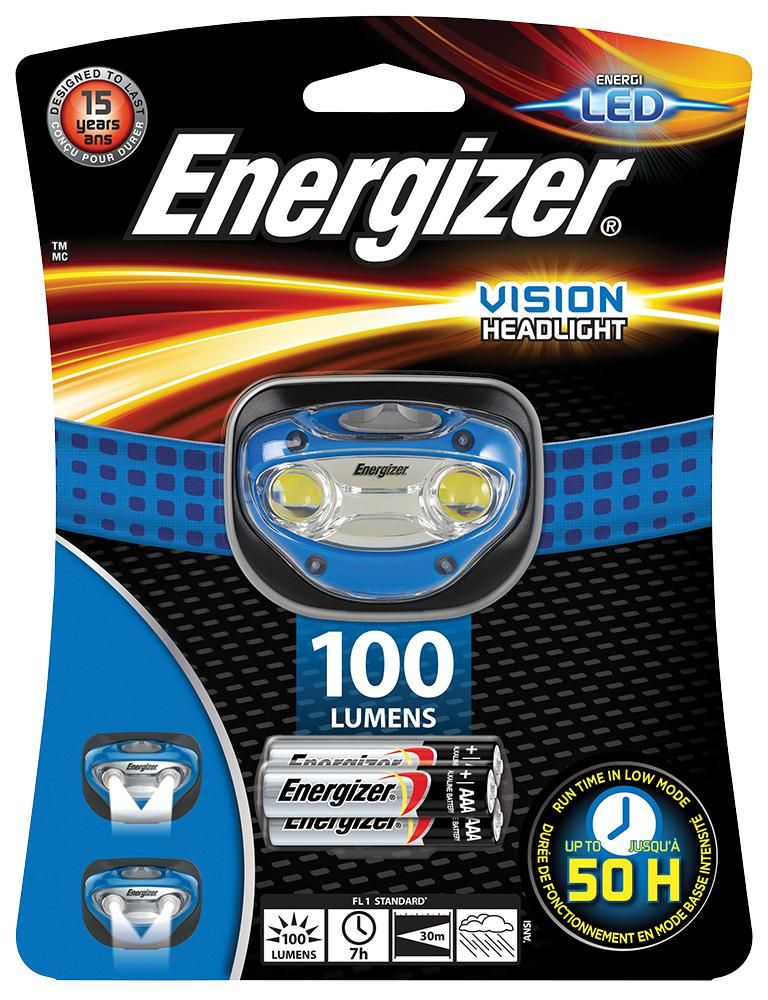 ENERGIZER HDA321  Headlight Inc 3 X Aaa 100 Lm Led