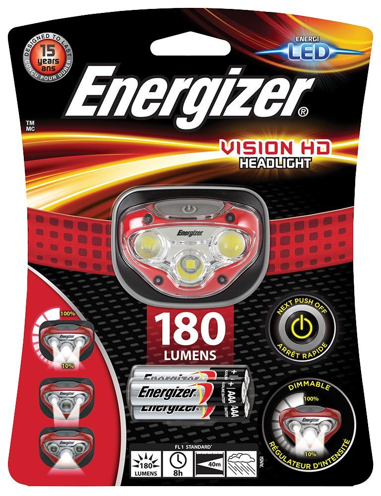 ENERGIZER HDB321  Headlight Inc 3X Aaa  200 Lm Led