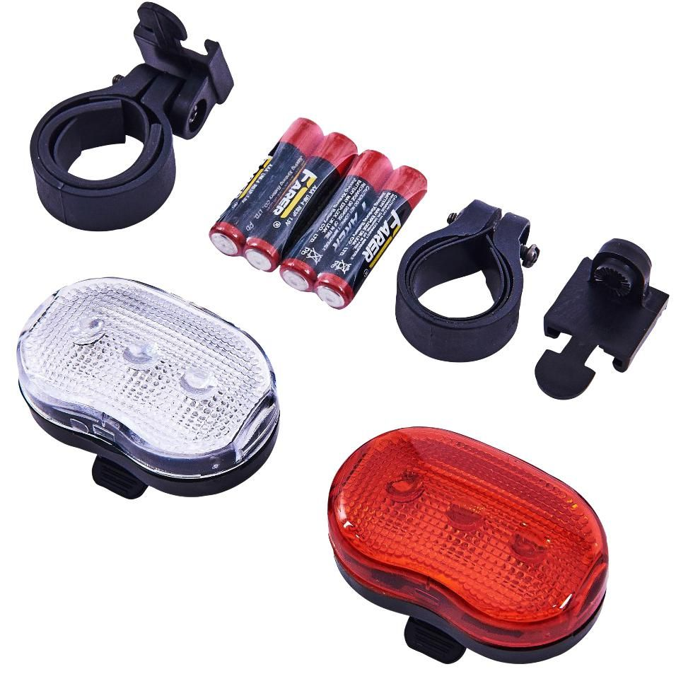 AMTECH S1825  2Pc Bicycle Flash Light Set