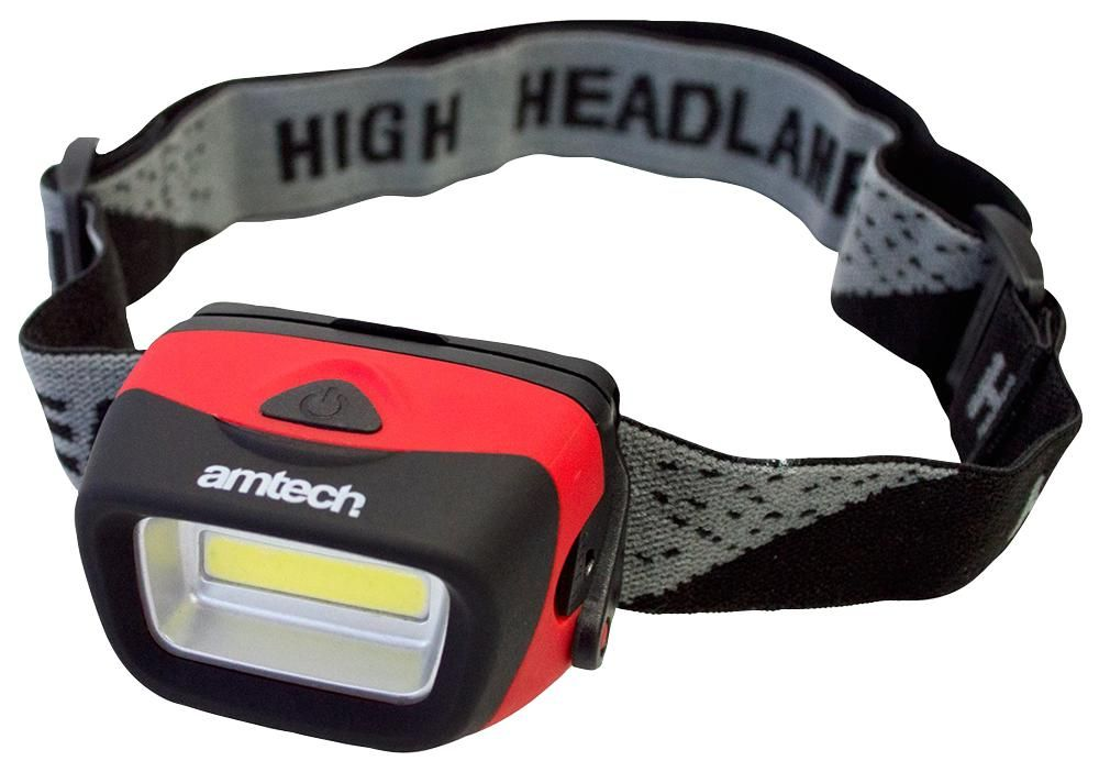 AMTECH S8090  3W Cob Led Headlight