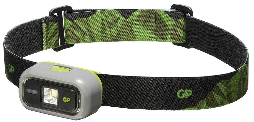 GP BATTERIES GPACTCH33000  Discovery Ch33 Head Torch With 1X Aa