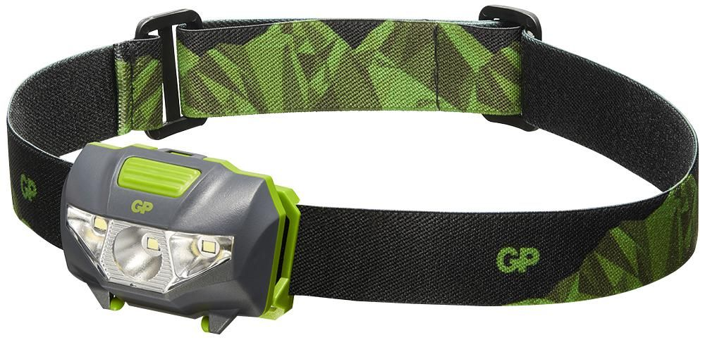 GP BATTERIES GPACTCH32000  Discovery Ch32 Head Torch + 3X Aaa
