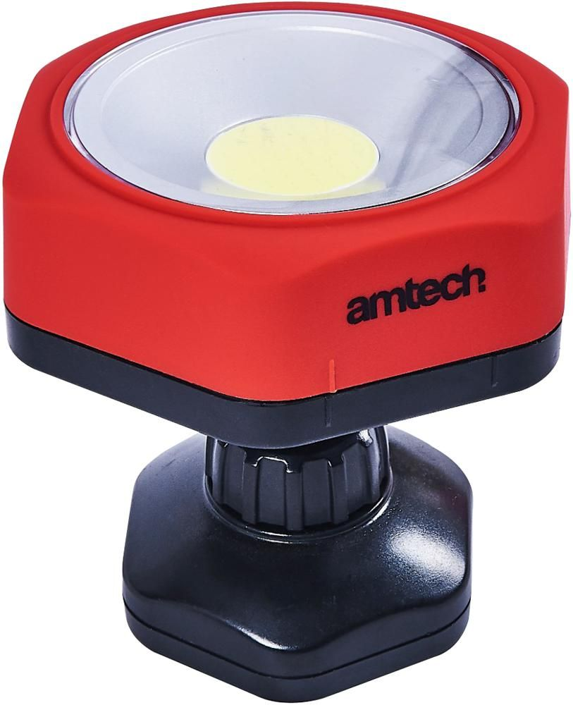 AMTECH S8147  3W Cob Swivel Base
