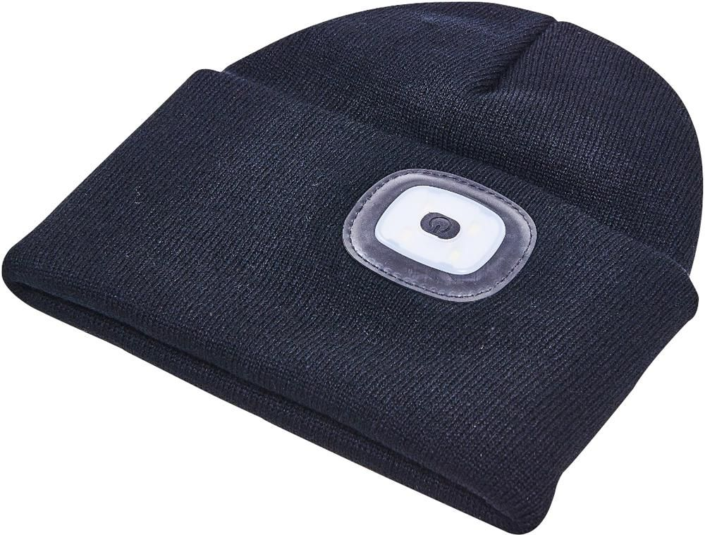 AMTECH S1670  Usb Rechargeable Beanie Hat With Leds