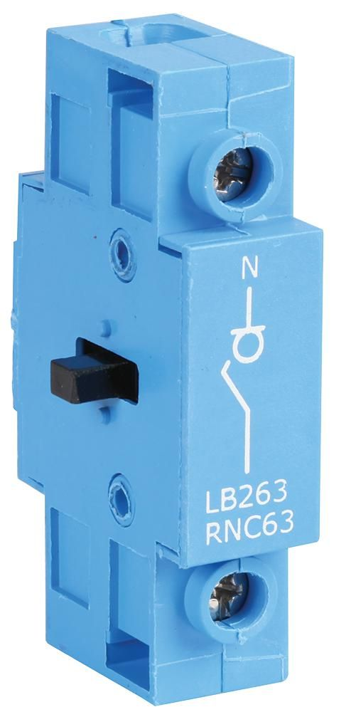 EUROPA COMPONENTS LB263AUXEM  Isolator Contact 25A-63A R/M