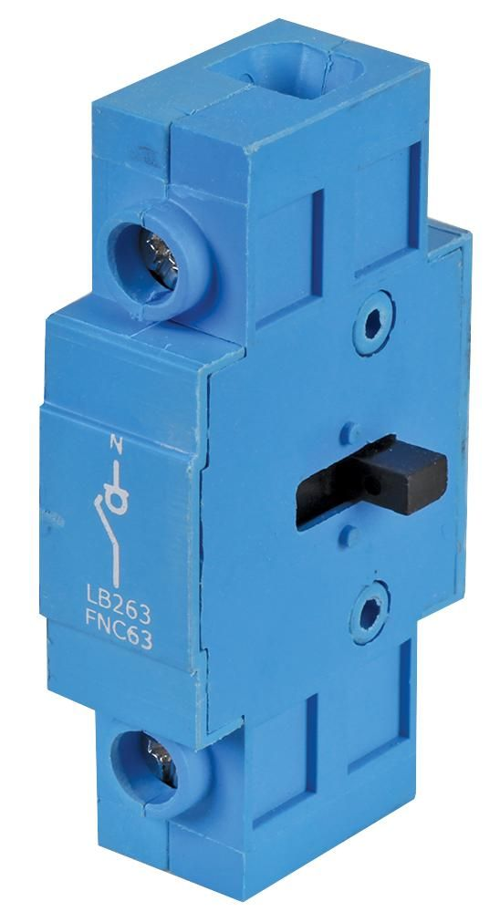EUROPA COMPONENTS LB263AUXEMFM  Isolator Contact 25A-63A F/M