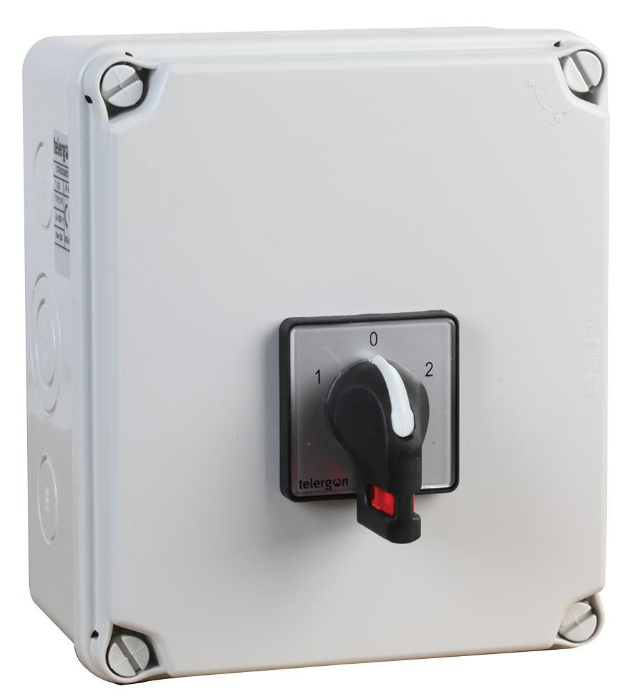 EUROPA COMPONENTS LBC252P  2 Pole Changeover Switch 25A
