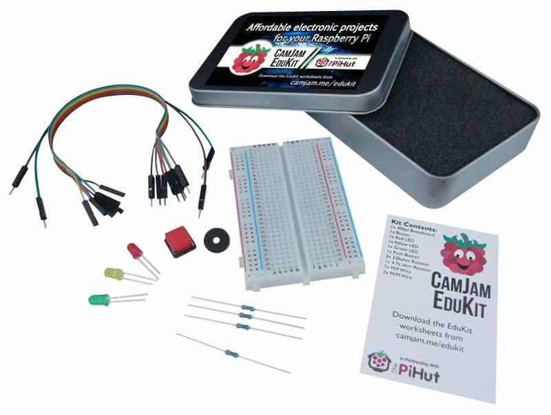 THE PI HUT 701980281785  Camjam Edukit 1 For Raspberry Pi