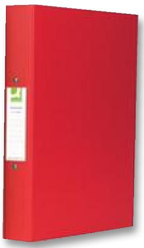 Q CONNECT KF02008  Ring Binder A4 Red (Pk10)