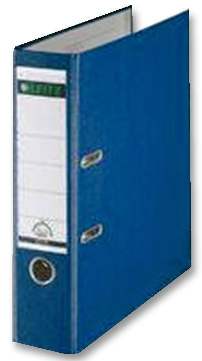 Q CONNECT KF20020  Lever Arch File A4 Poly Blue (Pk10)