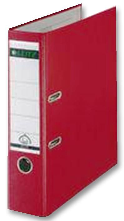 Q CONNECT KF20021  Lever Arch File A4 Poly Red (Pk10)